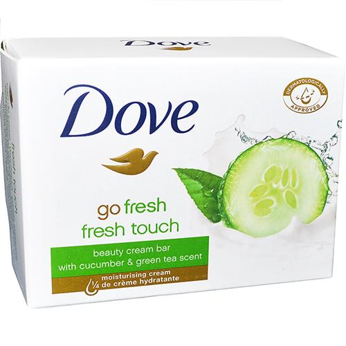 Wholesale Dove Cream Bar Soap Fresh Touch 100g/3.5 oz