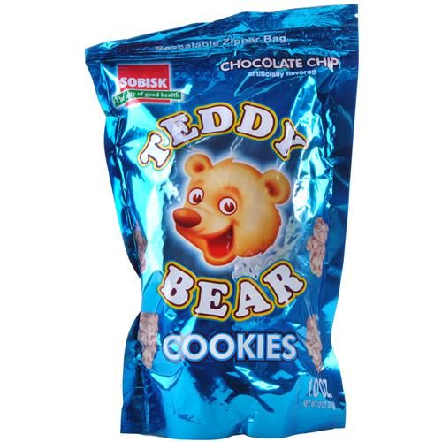 Wholesale Sobisk Teddy Bear Cookies Chocolate Chip