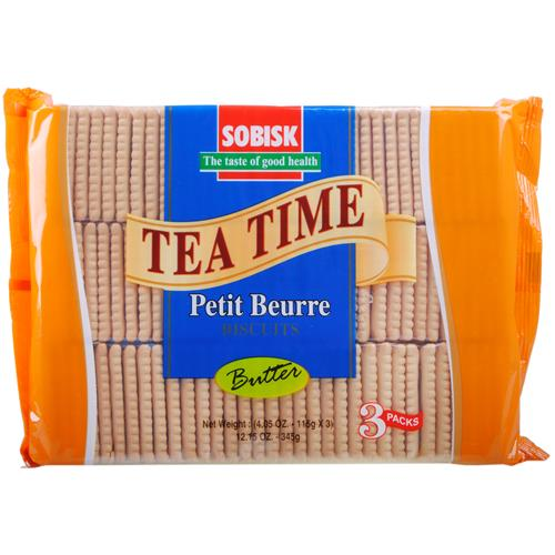 Wholesale Sobisk Tea Biscuits Butter 3 Pack