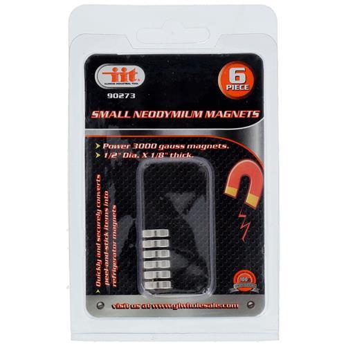 Wholesale 6pk SMALL NEODYMIUM MAGNETS