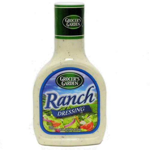 Wholesale Grocer's Garden Ranch Salad Dressing 12/16 oz