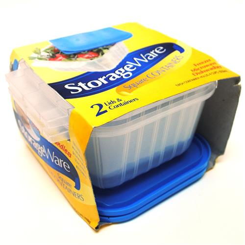 Wholesale Storage Ware Reusable Square Food Container 35oz