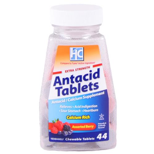 Wholesale Health Care Antacid Tablets Regular Strength Berry