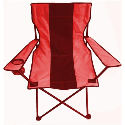 Wholesale Camping Chair Foldable with Carrying Bag, Black & Red