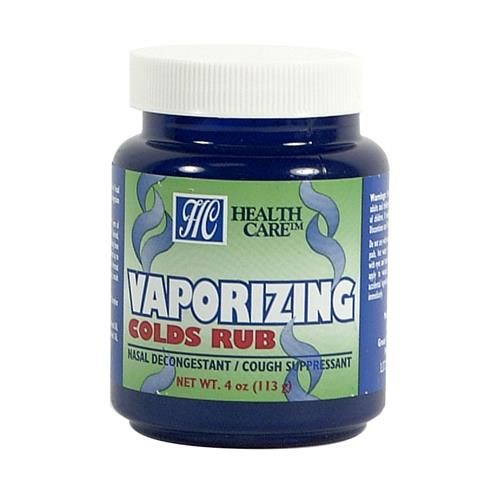Wholesale Health Care Vaporizing Colds Chest Rub - 2.6% Ment