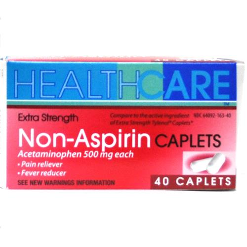 Wholesale Health Care Extra Strength APAP 500mg Caplets