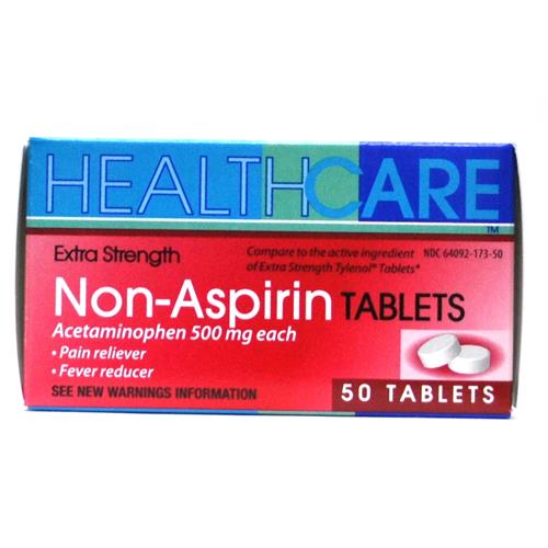 Wholesale Health Care Extra Strength APAP 500mg Tablets