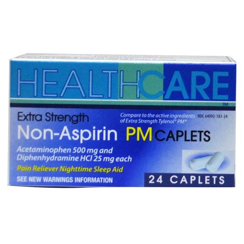 Wholesale Health Care Extra Strength APAP PM 500mg Caplets