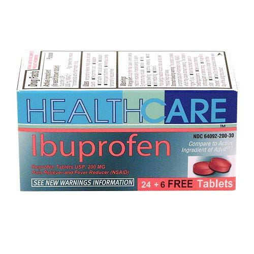Wholesale Health Care Ibuprofen 200MG Tablets Bonus
