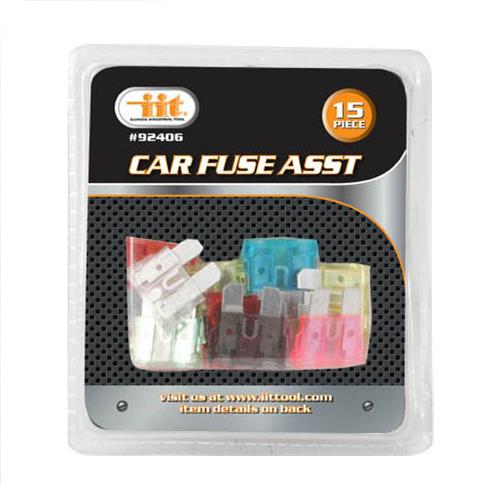 Wholesale 15PC Care Fuse Assortment