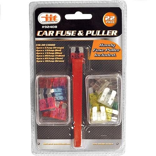 Wholesale 22PC Car Fuse Set & Puller