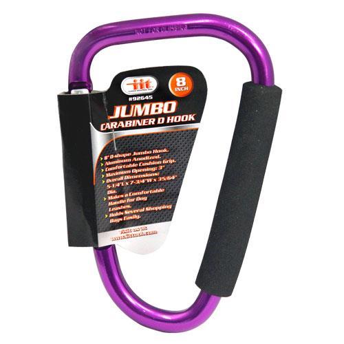 "Wholesale 8"" Jumbo Carabiner D Hook"