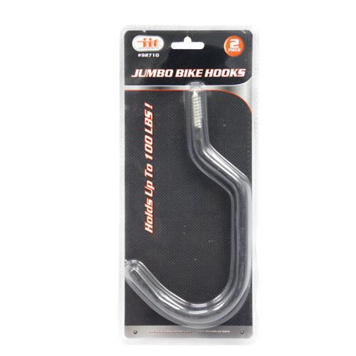 Wholesale 2PC Jumbo Bike Hooks With Grip