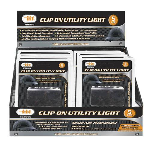 Wholesale 5 LED Clip On Utility Light