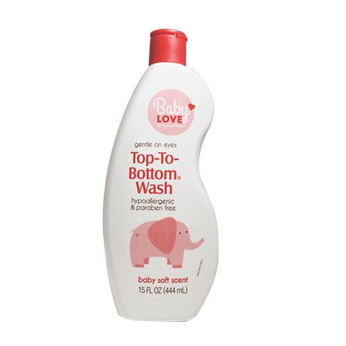 Wholesale BABY ITEMS - BABY LOVE TOP TO BOTTOM BABY WASH 15OZ