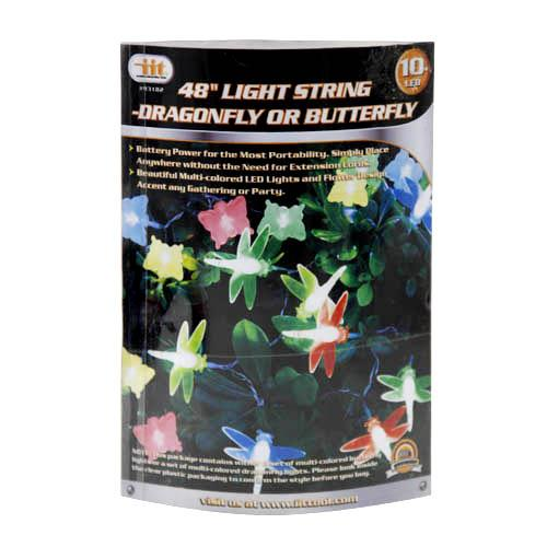 "Wholesale 48"""" Light String - Dragonyfly/Butterfly"