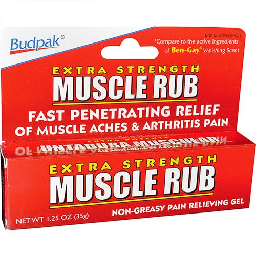 Wholesale Bud Pak Muscle Rub Gel (Ben Gay)