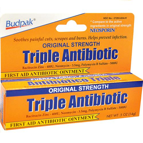 Wholesale Bud Pak Triple Antibiotic Ointment (Neosporin)