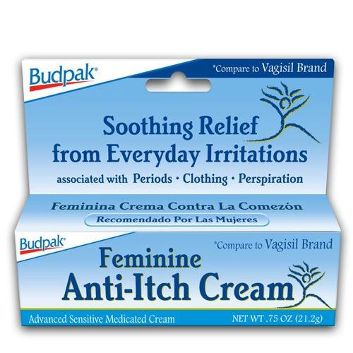 Wholesale Bud Pak Feminine Anti-Itch Cream- compare to Vagisil