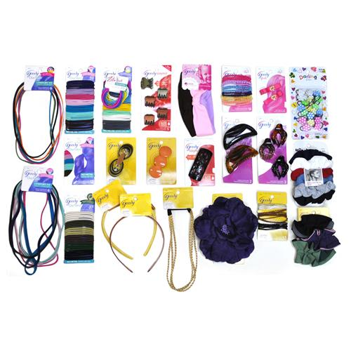 Wholesale Assorted Goody Hair Items Adults and Kids Mix - As