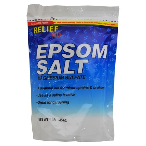 Wholesale Relief Epsom Salt in a Resealable Bag