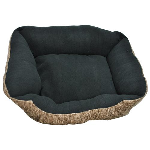 """Wholesale Small Rectangle Pet Bed 14""""""""x19""""""""x7"""""""" With Sides A"""