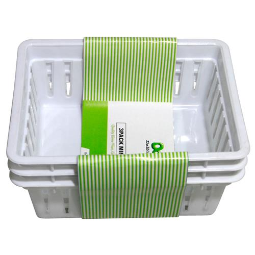 "Wholesale Organizing Trays 6.5x5.25x3.5""""- White"