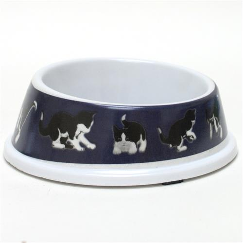 Wholesale Melamine Cat Bowl 5.5 x 5.5 x 1.75""