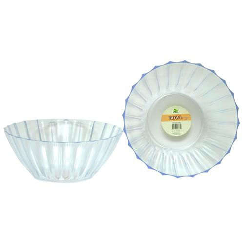 "Wholesale Ribbed Serving Bowl 8.5"" Dia"