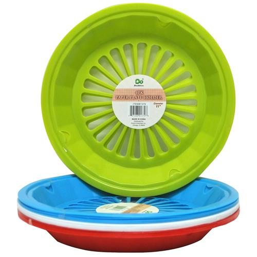 Wholesale Paper Plate Holder 4 Colors  sc 1 st  GREAT LAKES WHOLESALE & Wholesale Paper Plate Holder 4 Colors - GLW