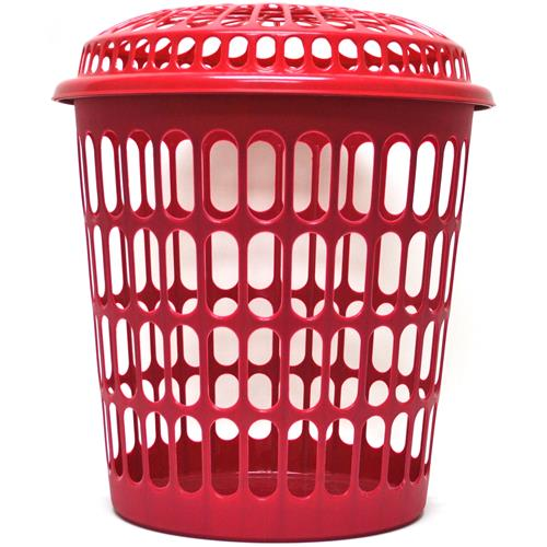 "Wholesale Heavy Duty Plastic Hamper w/Lid Approximately 14.5""H"