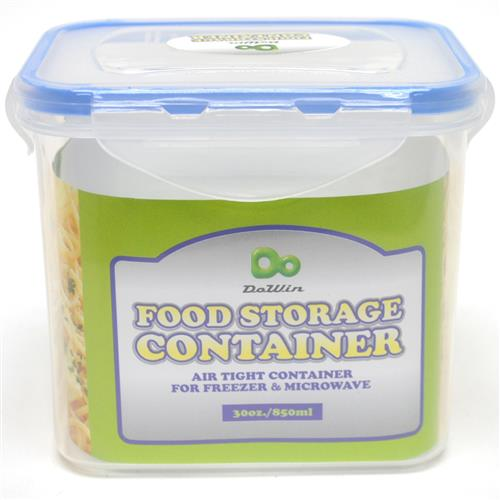 Wholesale Rectangle Food Storage Container with Click Lock L