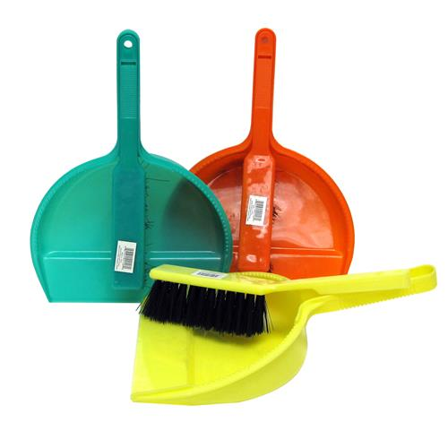 Wholesale Dustpan with Brush 9x2x11.75""