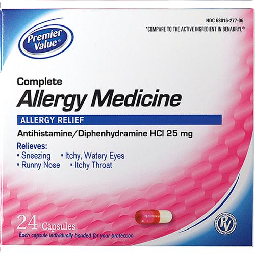 Wholesale PREMIERE VALUE ALLERGY CAPS