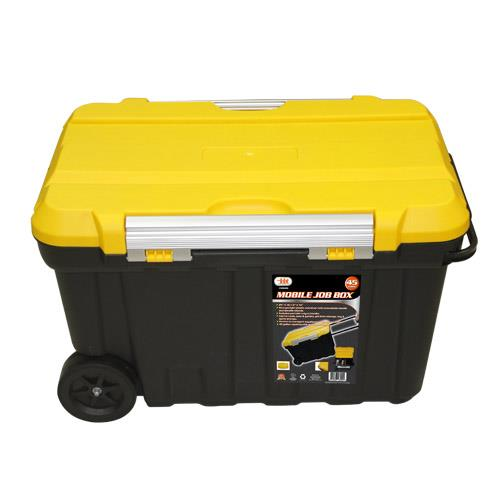 Wholesale Mobile Job Box 45 Gal Rolling Container with Handle