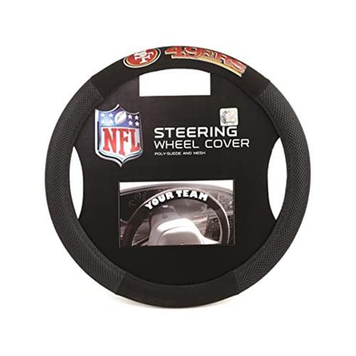 Wholesale NFL SF 49ERS STEERING WHEEL COVER