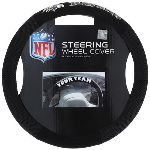 Wholesale NFL BALTIMORE RAVENS STEERING WHEEL COVER