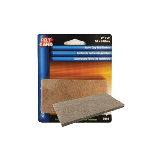 "Wholesale 3PK 2x4"" FELT FURNITURE PADS SELF ADHESIVE"
