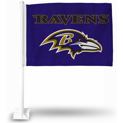 Wholesale NFL BALTIMORE RAVENS CAR FLAG