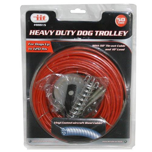 Wholesale Heavy Duty Dog Trolley 50'