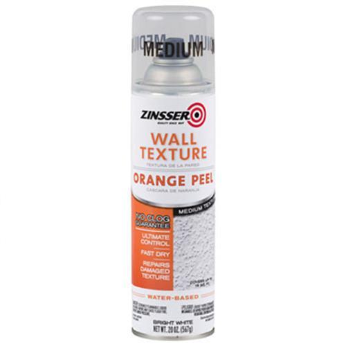 Wholesale ZINSSER Wall Med Texture Orange Peel Water Based Interior Bright White 20oz