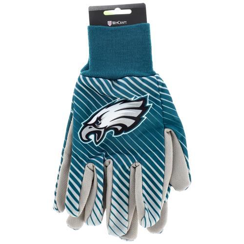 Wholesale NFL EAGLES SPORT UTILITY GLOVES WITH DOTS