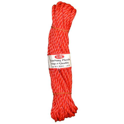 Wholesale BRAIDED POLY ROPE 33' x 5MM RED