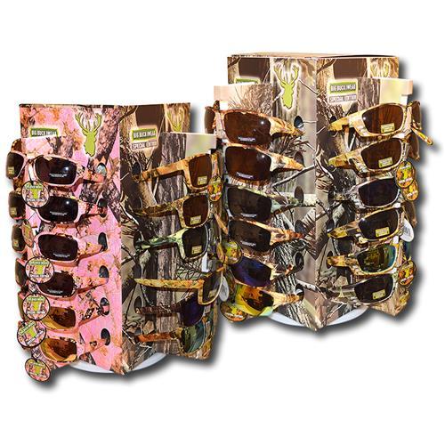 Wholesale BIG BUCK CAMO SUNGLASS + PINK -SPECIAL EDITION