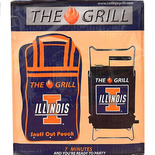Wholesale Son of Hibachi University of Illinois Fighting Illini BBQ Grill.