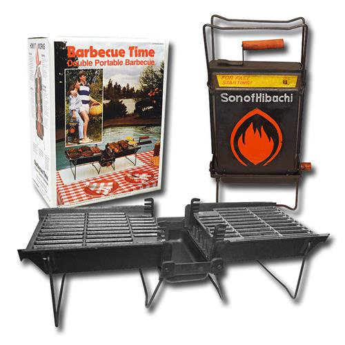Wholesale Son Of Hibachi Portable BBQ Cast Iron Grill.
