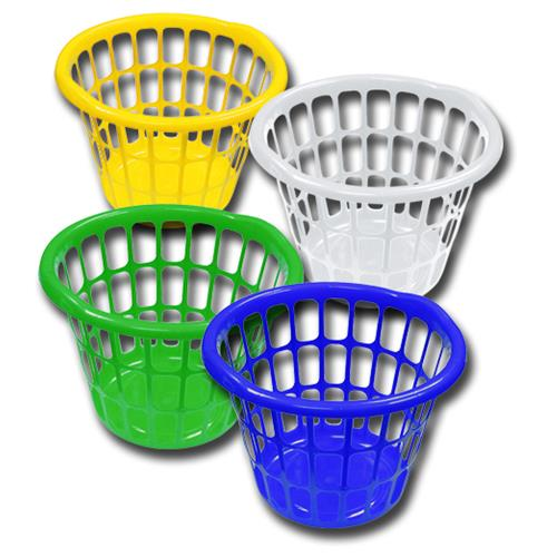 Wholesale Laundy Basket Bright Colors Assorted
