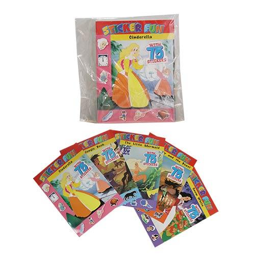 Wholesale FAIRY TALE BOOKS WITH 75 STICKERS
