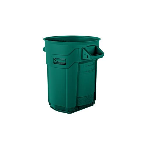 Wholesale 20 GAL COMMERCIAL TRASH CAN GREEN