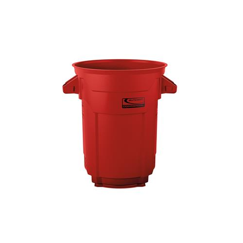 Wholesale 20 GAL COMMERCIAL TRASH CAN RED